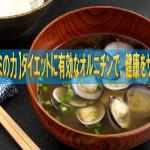 【シジミの力】ダイエットに有効なオルニチンで、健康をサポート!!